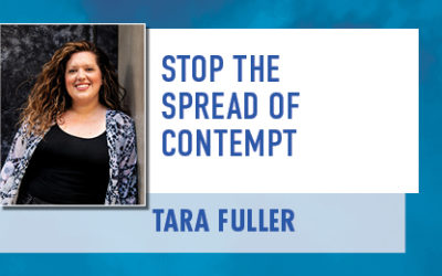 Stop the Spread of Contempt