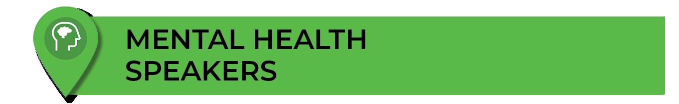 Mental Health Orientation Speakers
