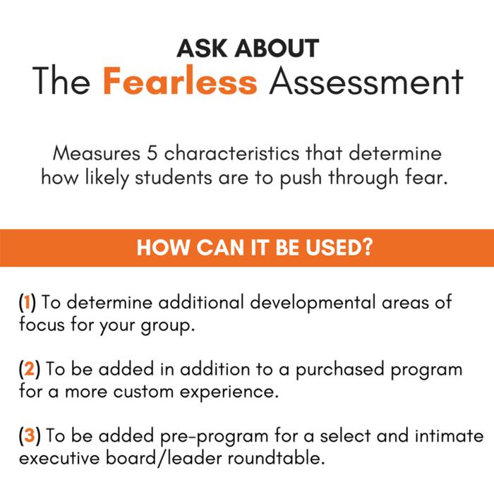 fearless assessment